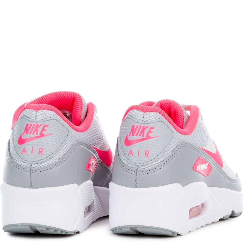 Nike Air Max 90 Mesh GS Black Pink Pow Blue Girls 724855 004