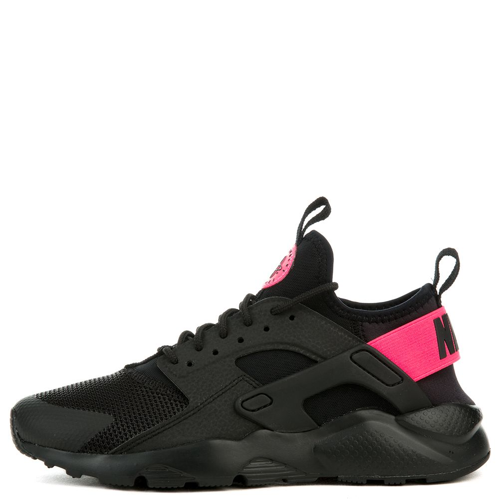 635ec36fc2f AIR HUARACHE RUN ULTRA GS BLACK BLACK-HYPER PINK