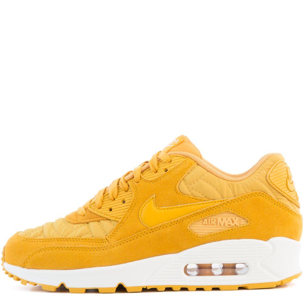 Officially Nike Men's Air Max 90 PRM WHITEMETALLIC GOLD GRN