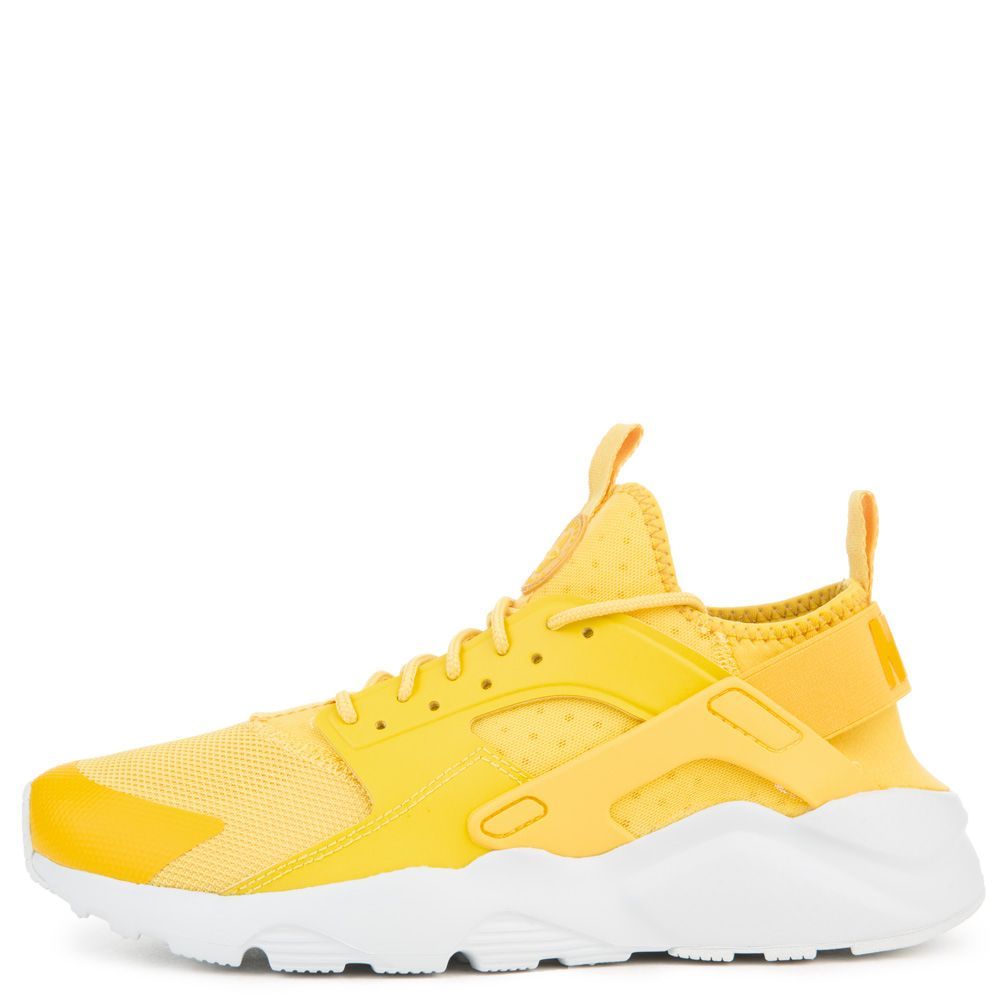 MENS NIKE NIKE AIR HUARACHE RUN ULTRA MINERAL YELLOWVIVID SU