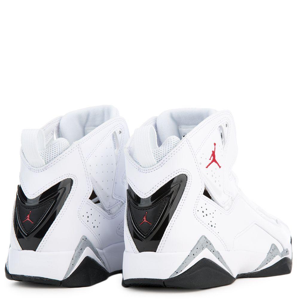 huge discount 7b546 5a454 Jordan True Flight WHITE GYM RED BLACK WOLF GREY