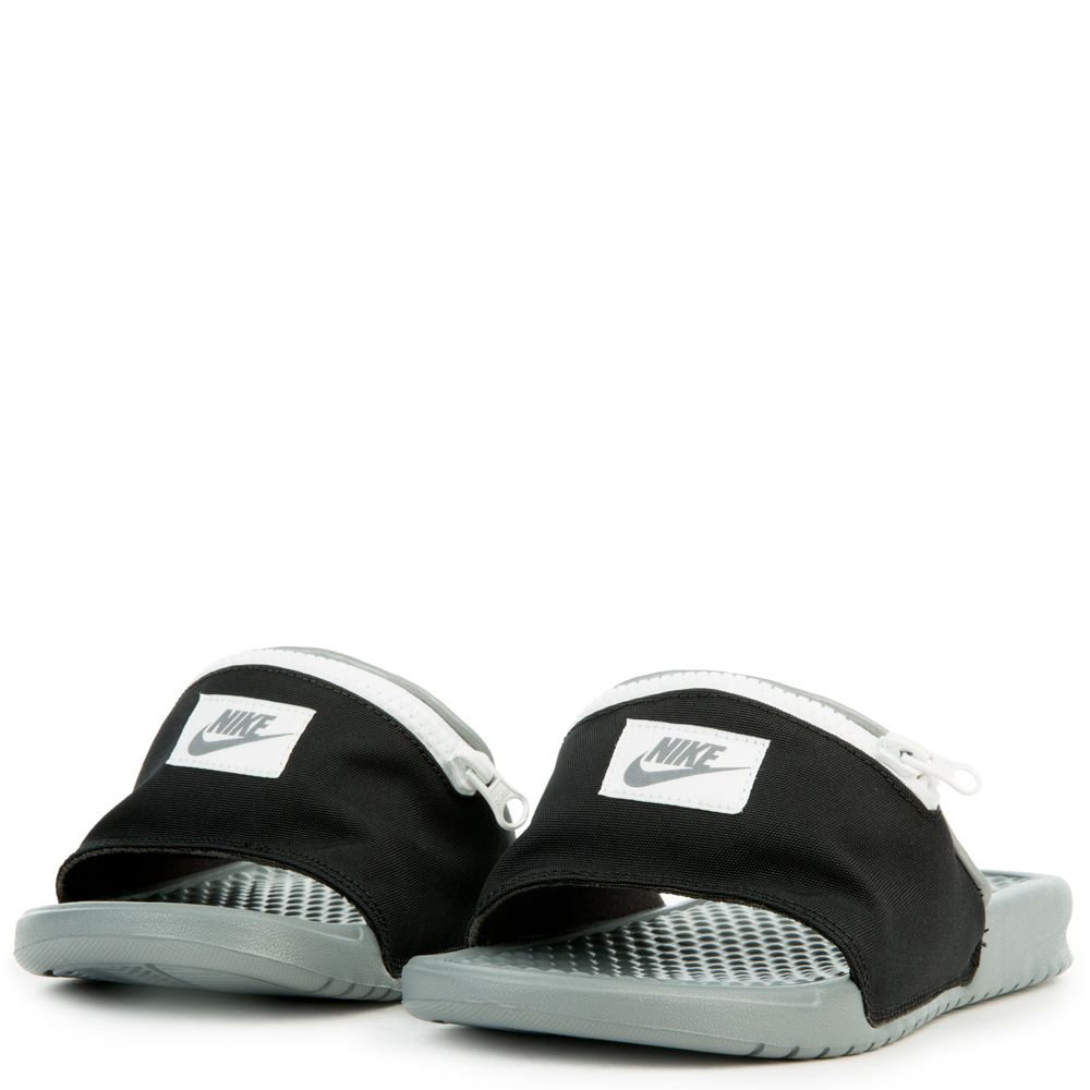 ae723563783e15 ... WOMEN S NIKE BENASSI JDI FANNY PACK BLACK COOL GREY SUMMIT WHITE ...
