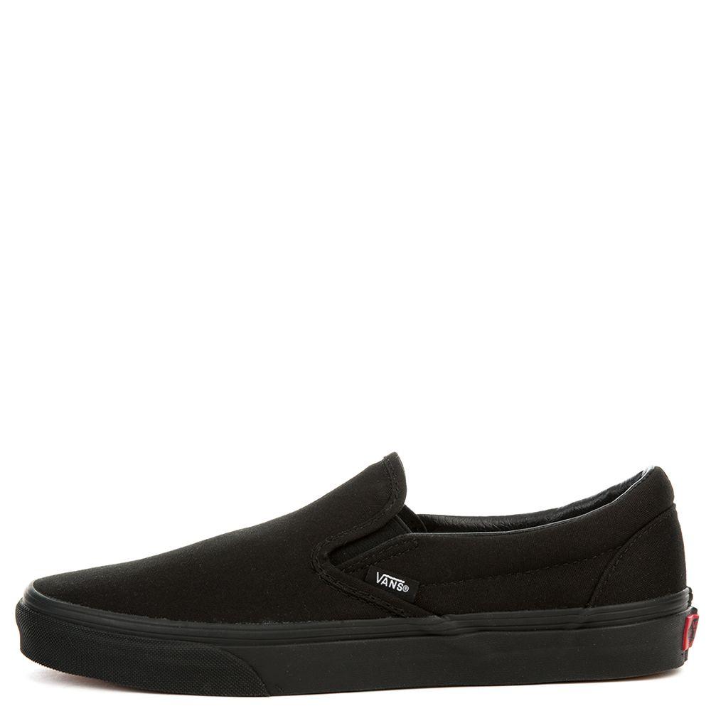 76db17884fa UNISEX CLASSIC SLIP ON BLACK BLACK - Mens shoes - Vans - Brands