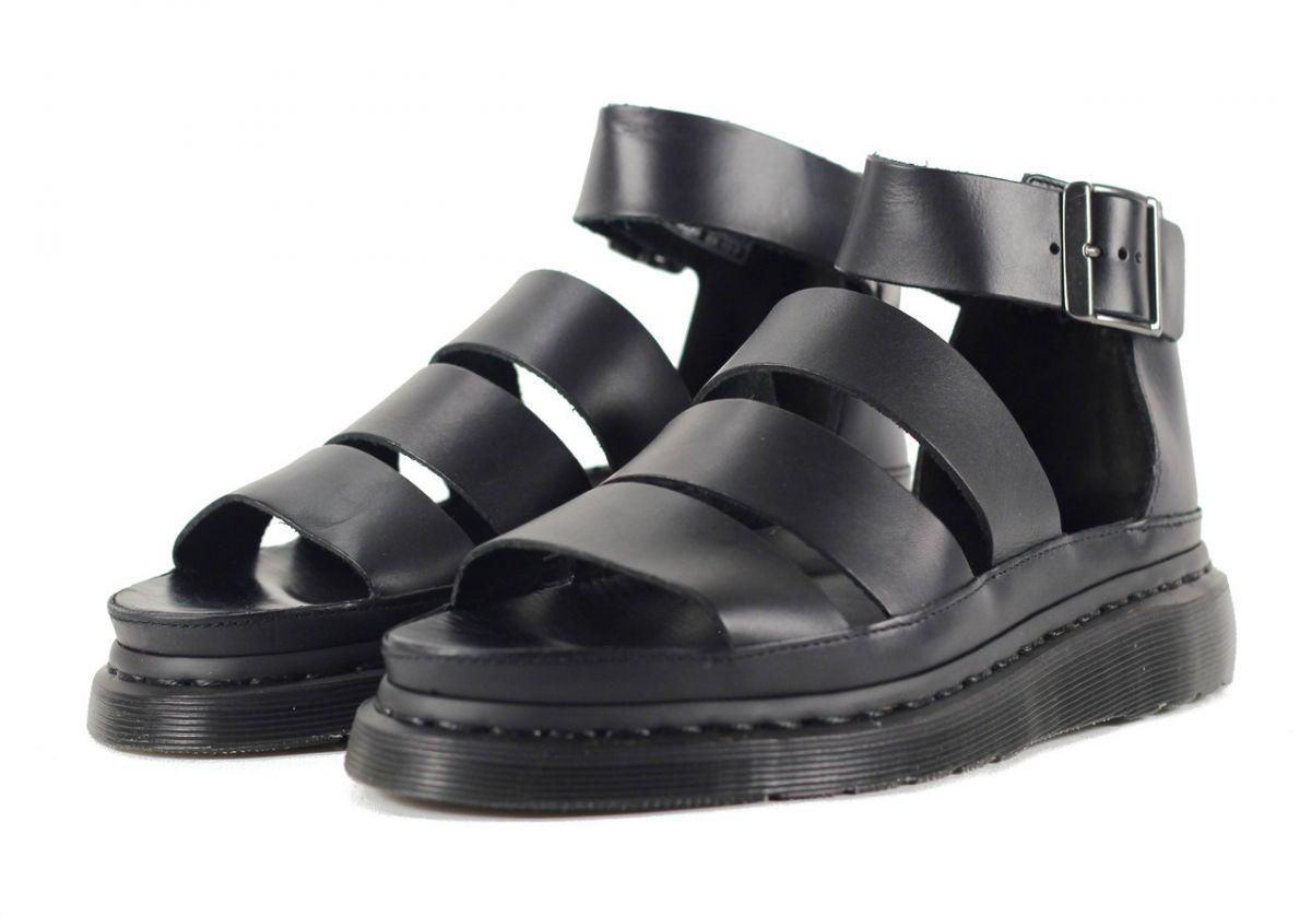 WomenClarissa WomenClarissa For For Black DrMartens Sandals DrMartens wm8vNn0