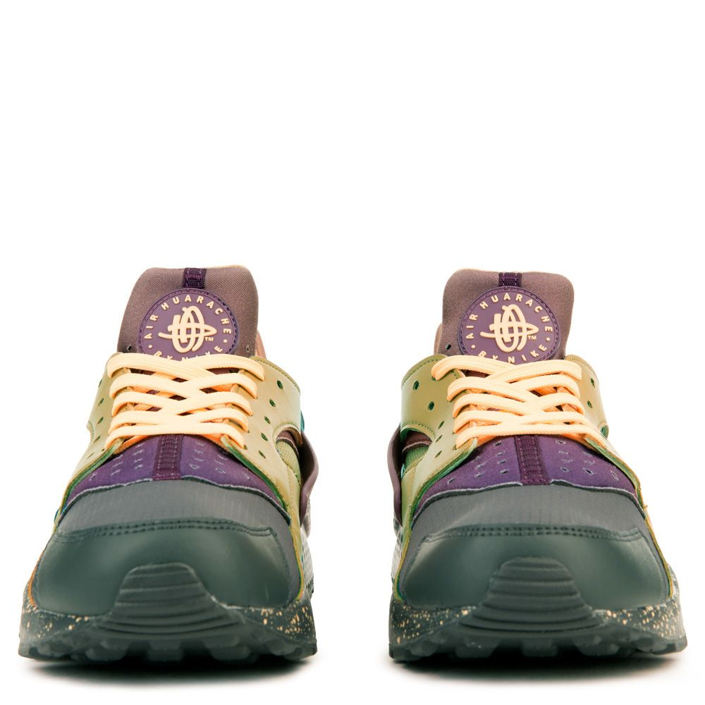 quality design b8c0c 2e078 MEN S NIKE AIR HUARACHE RUN PREMIUM ANTHRACITE PRO PURPLE ELEMENTAL GOLD