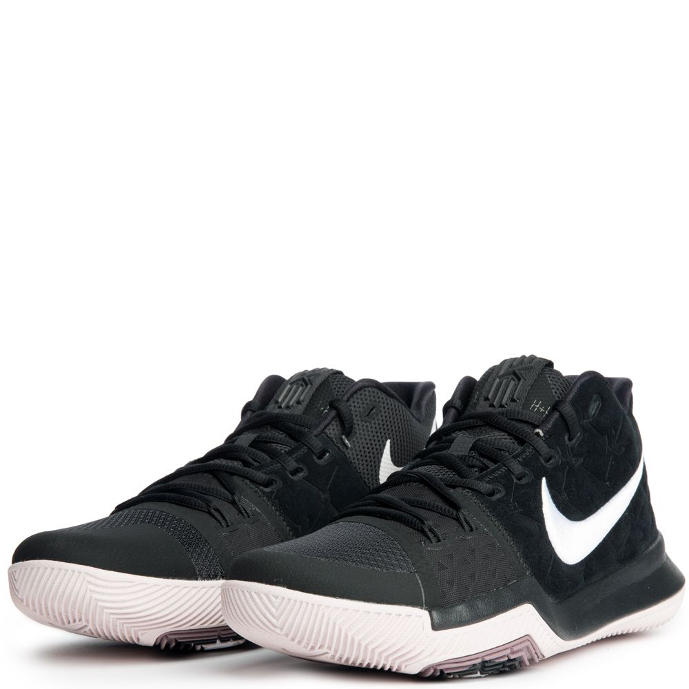 newest e68e7 7a684 Kyrie 3 BLACK WHITE-SILT RED