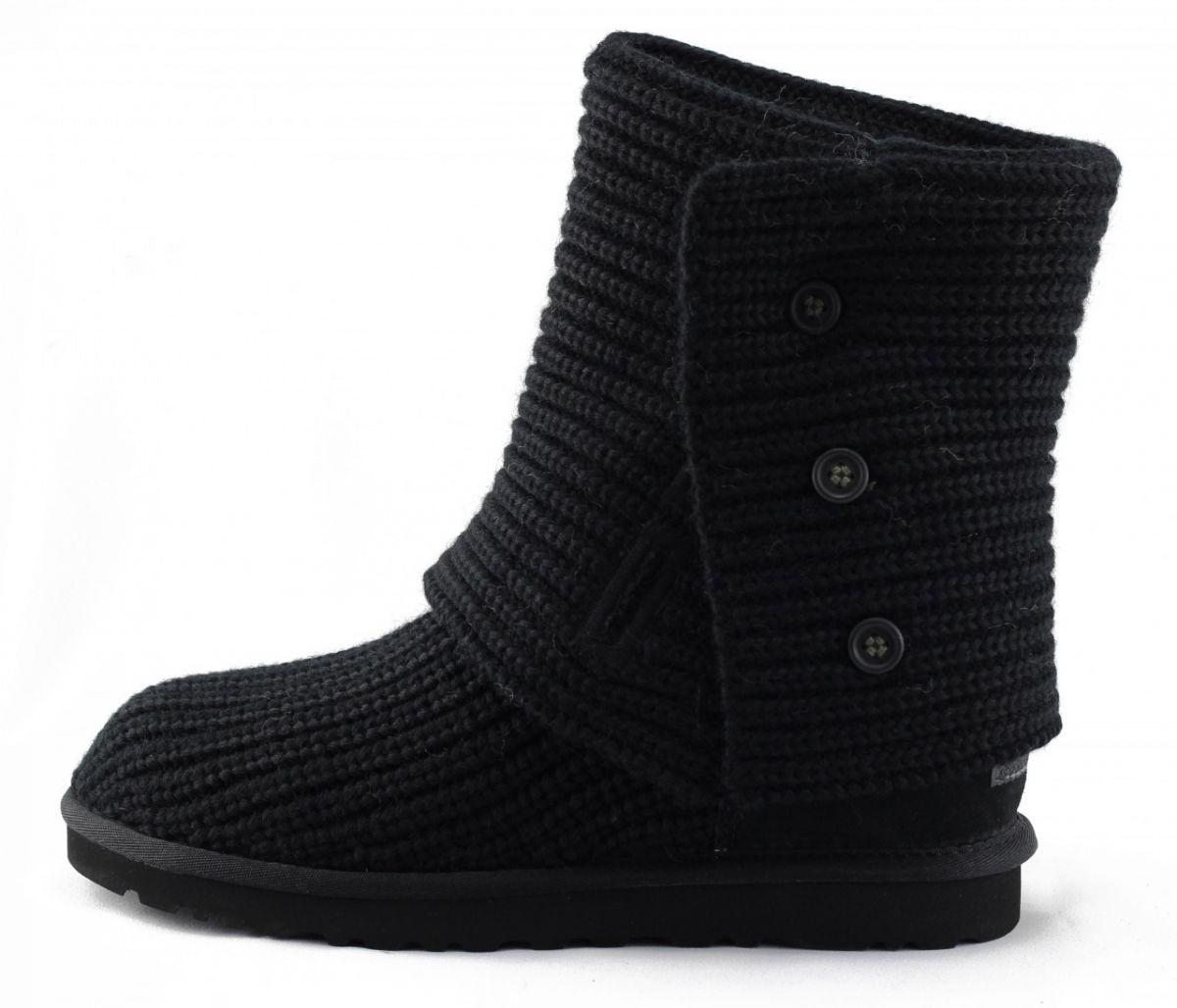 4710b1a1286 UGG Australia for Women: Cardy Black Boots BLACK