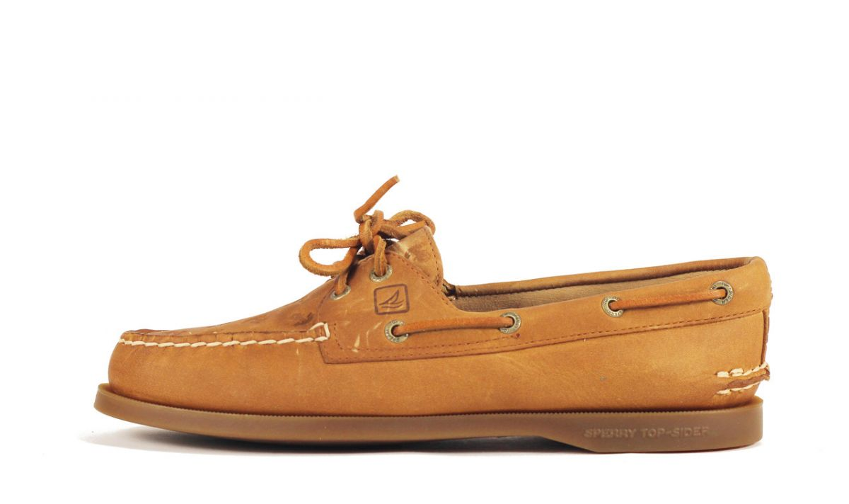 Sperry Topsider for Women  A O Natural Anchor Boat Shoe Brown d1e549c75