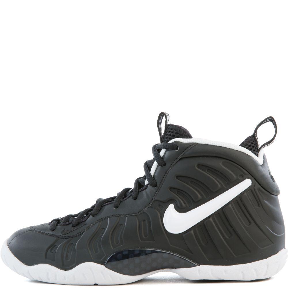 48d5ff663ddaf Nike Little Posite Pro  Dr. Doom  Black White