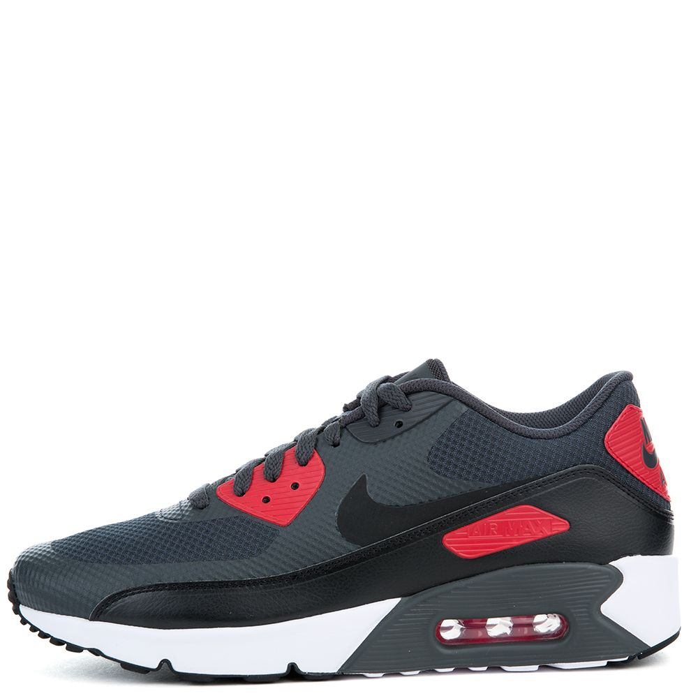 99cbcdaea789 air max 90 ultra 2.0 anthracite black-university red-white