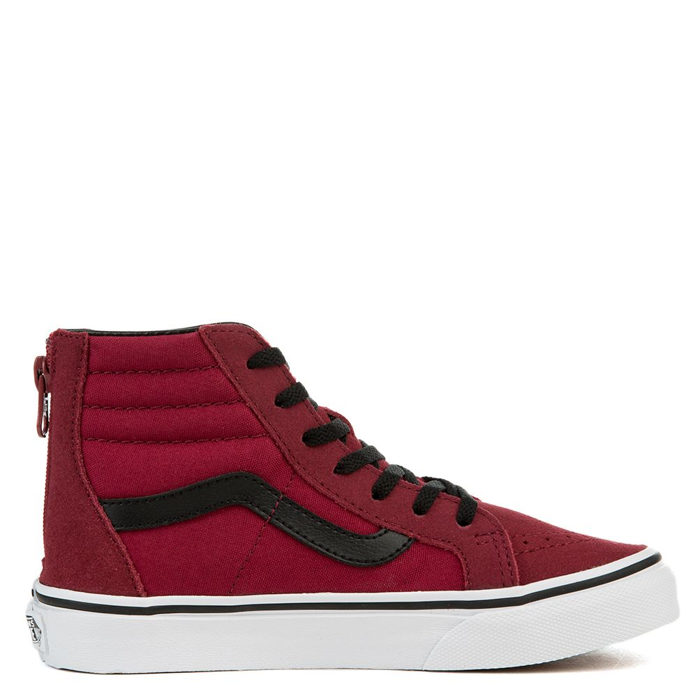 a9edaca4d6f5 SK8-HI ZIP (PS) TIBETAN RED BLACK