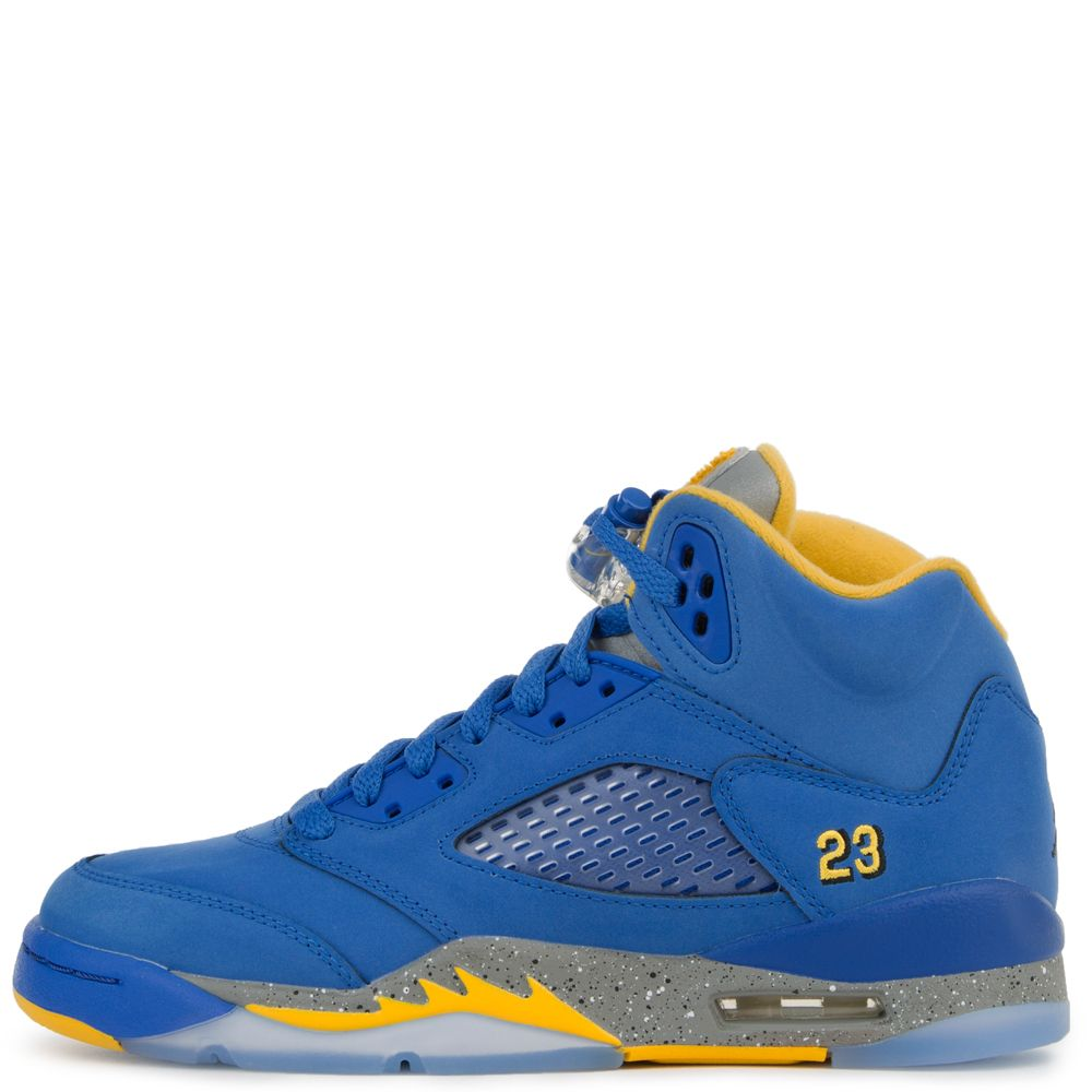 e5c124230ea (GS) Air Jordan Retro 5 Laney VARSITY ROYAL/VARSITY MAIZE ...