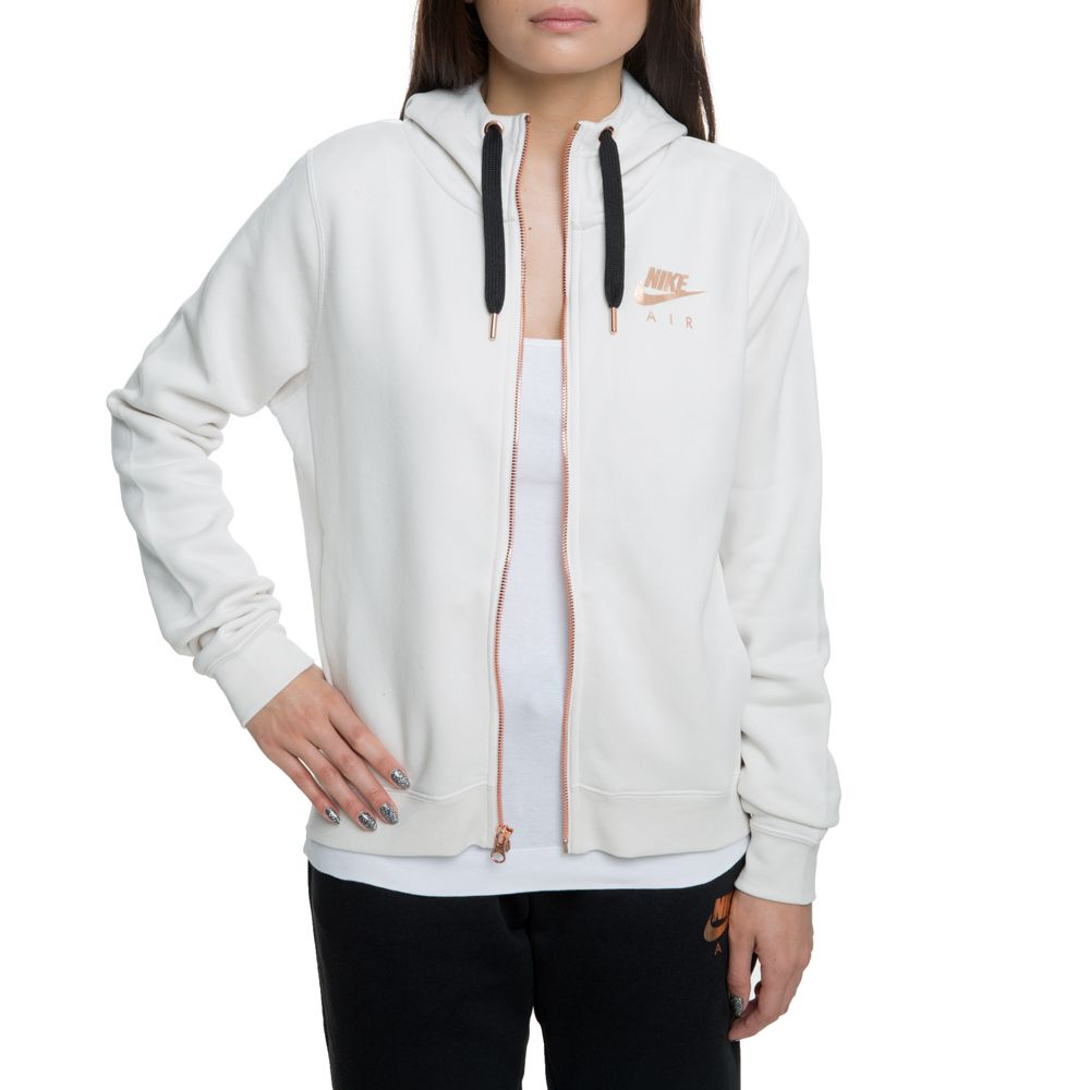 6635650a94ca nsw rally fleece full-zip hoodie phantom black rose gold