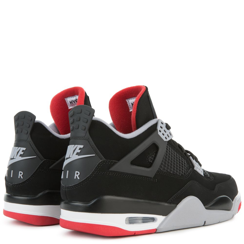 44361e03aeb ... AIR JORDAN 4 RETRO BLACK FIRE RED-CEMENT GREY-SUMMIT WHITE ...