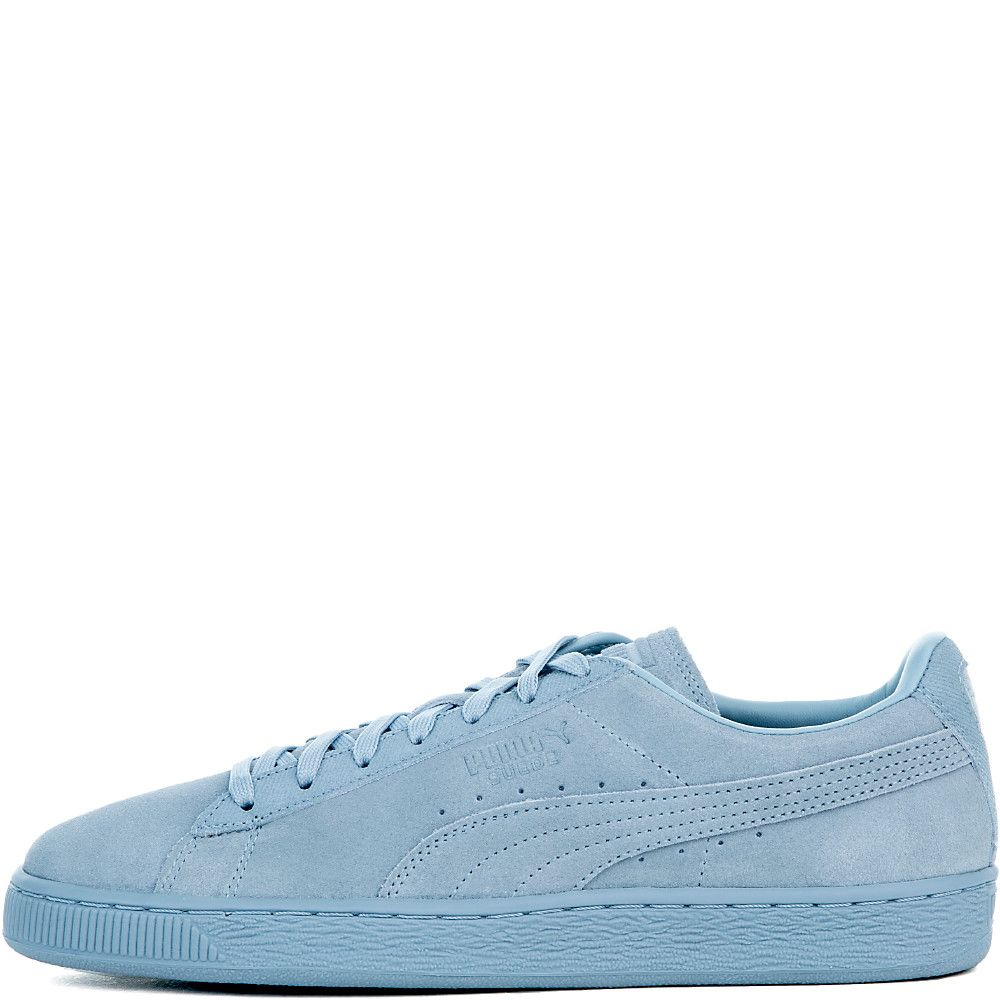 a97a37692f04 Men s Suede Classic Tonal Sneaker BLUE FOG