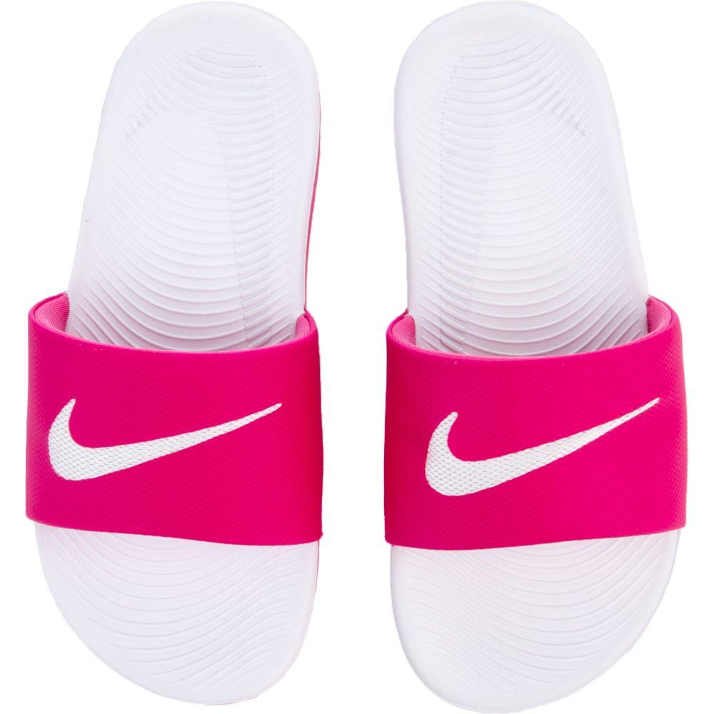 94627519626995 clearance nike kawa slide gs ps vivid pink white 3b069 6350f