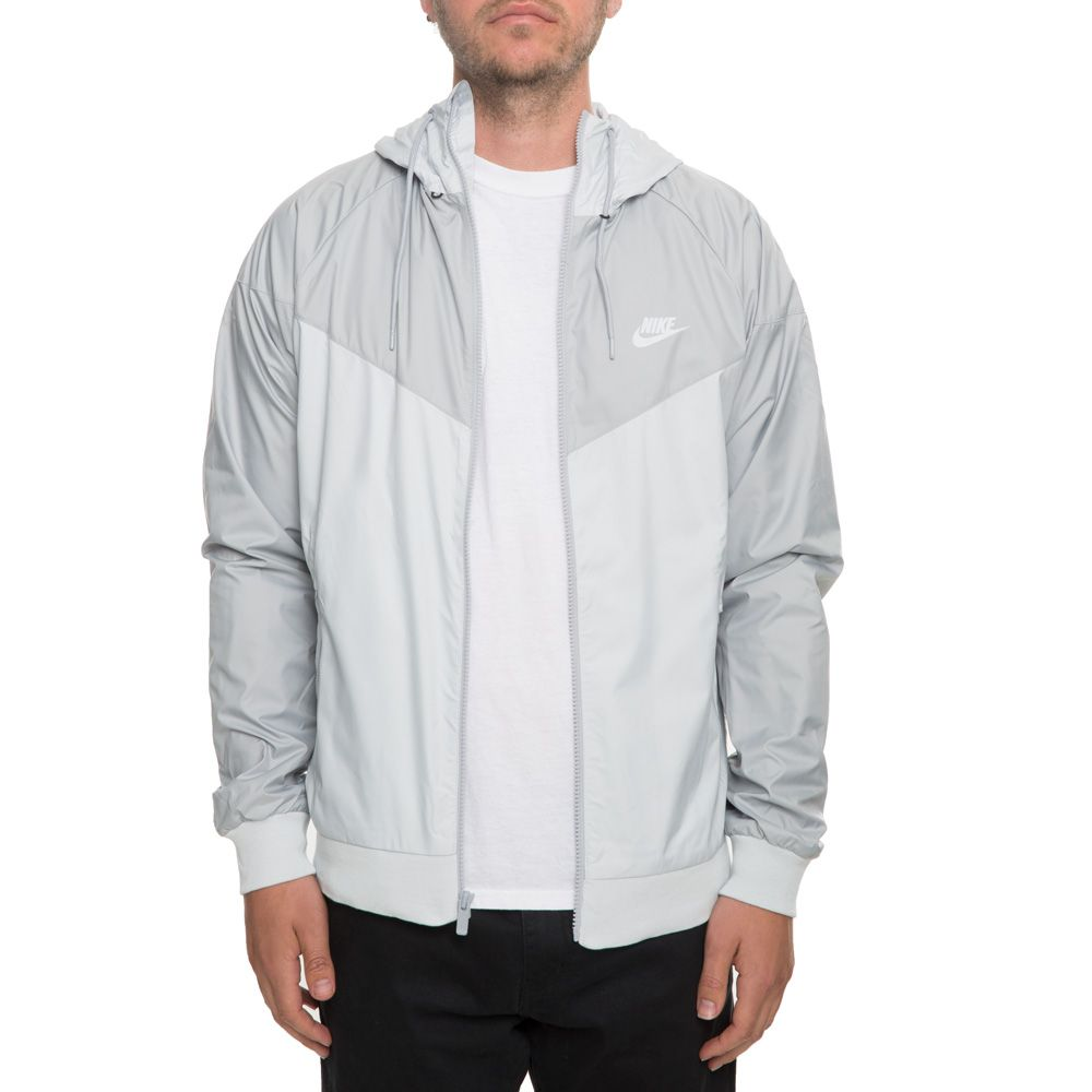 MEN S NIKE WINDRUNNER JACKET PURE PLATINUM WOLF GREY eadcc4f3b