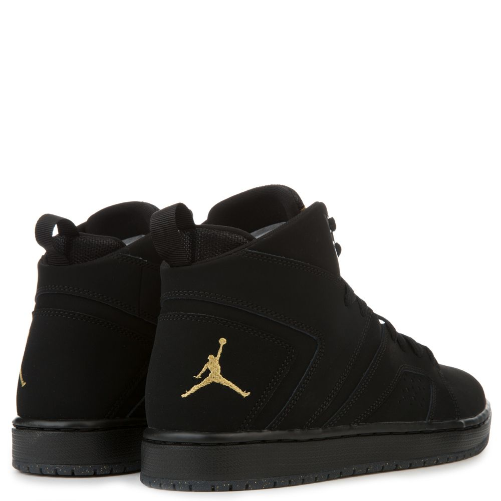 online store cba13 f5ab0 Air Jordan Flight Legend BLACK METALLIC GOLD