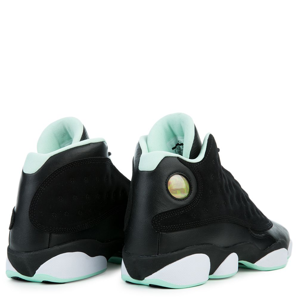 new style e1429 feb74 Air Jordan Retro 13 BLACK METALLIC GOLD-MINT FOAM-WHITE