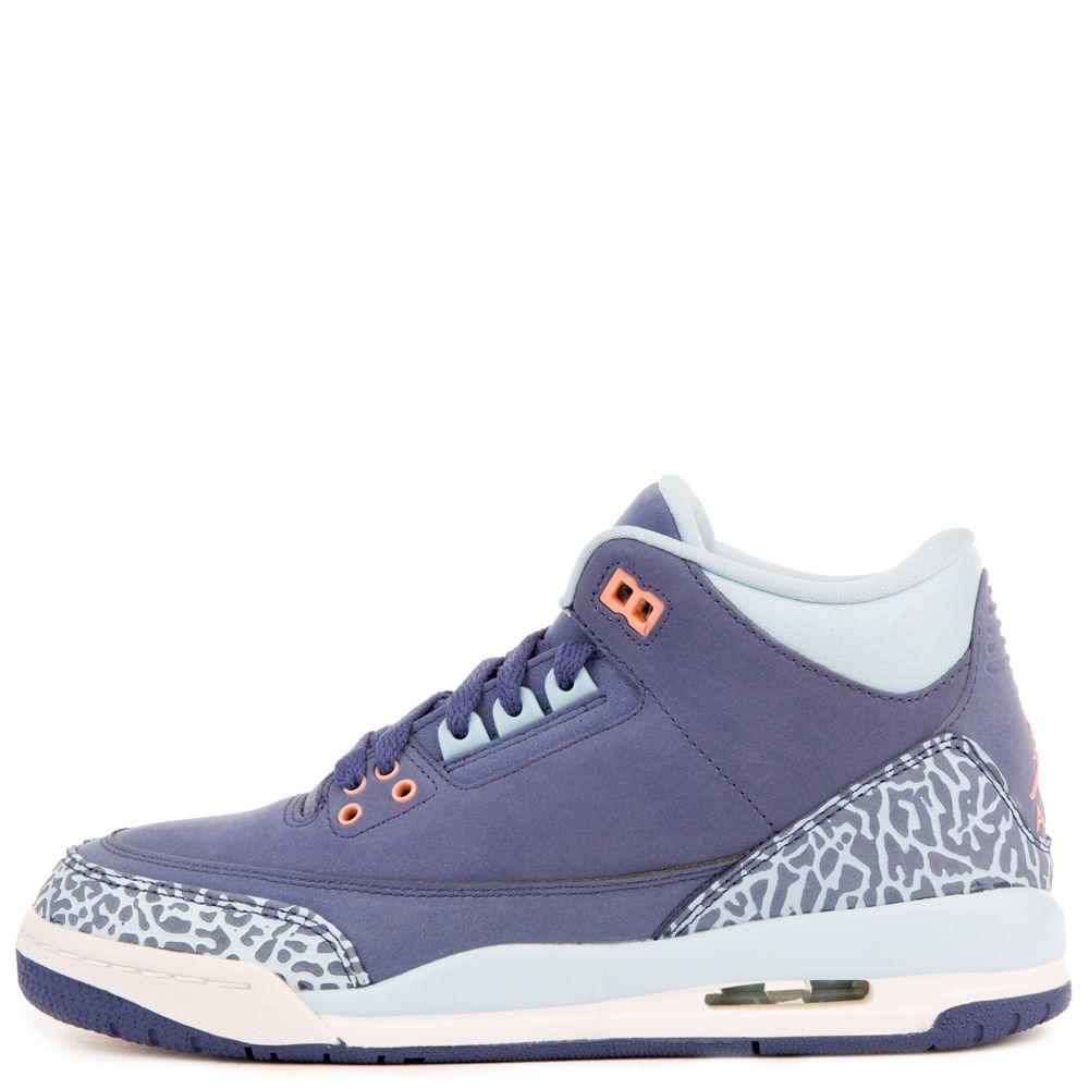 94c7eb12a62 AIR JORDAN 3 RETRO GG Purple Blue Orange White