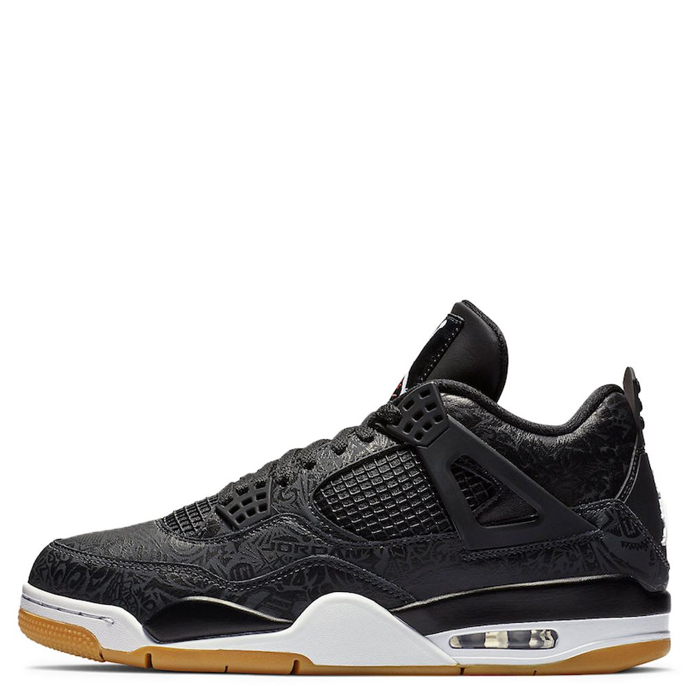 a2696927724 AIR JORDAN 4 RETRO SE BLACK WHITE-GUM LIGHT BROWN