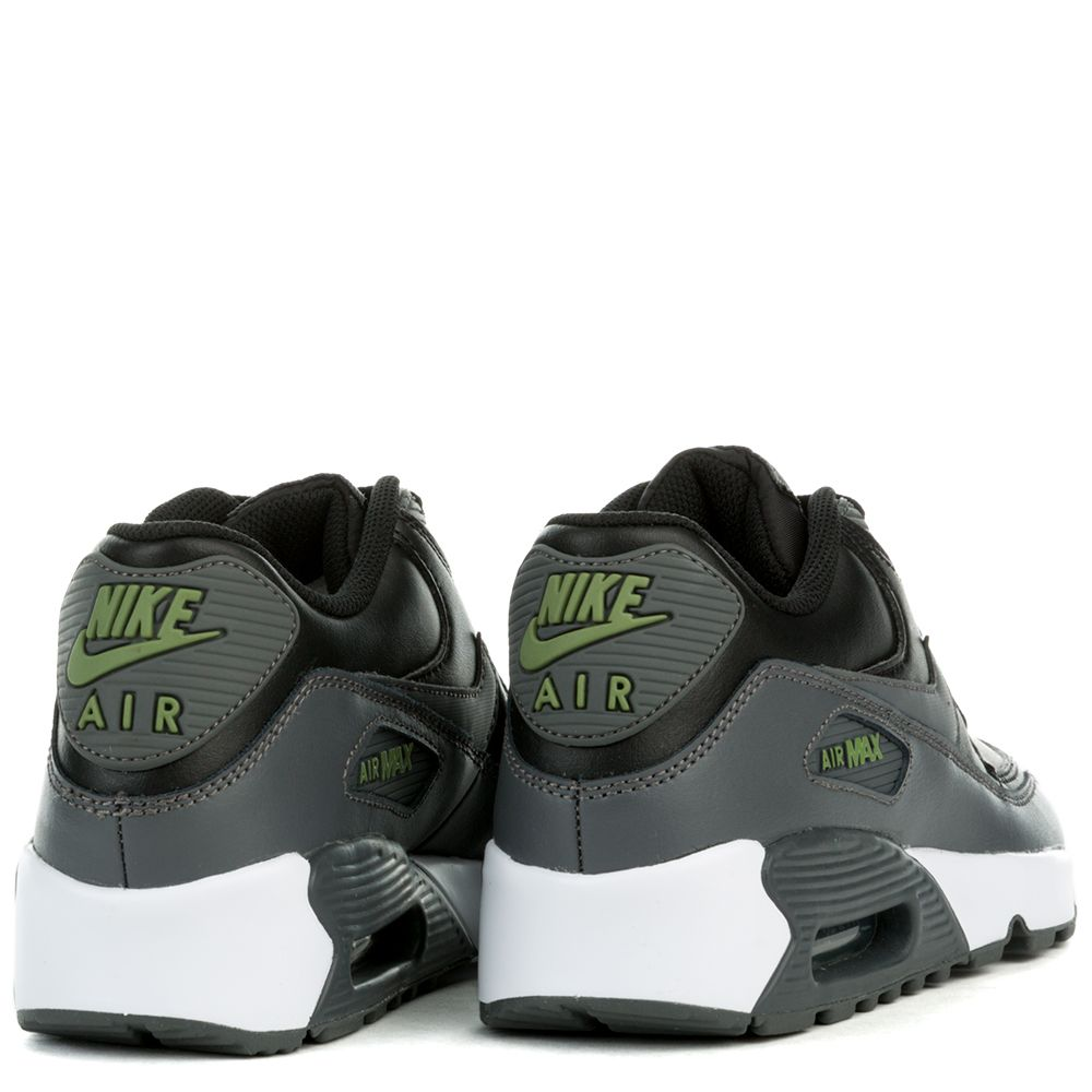 newest collection 44898 40aff Air Max 90 Leather ( BLACK DARK GREY-PALM GREEN-WHITE