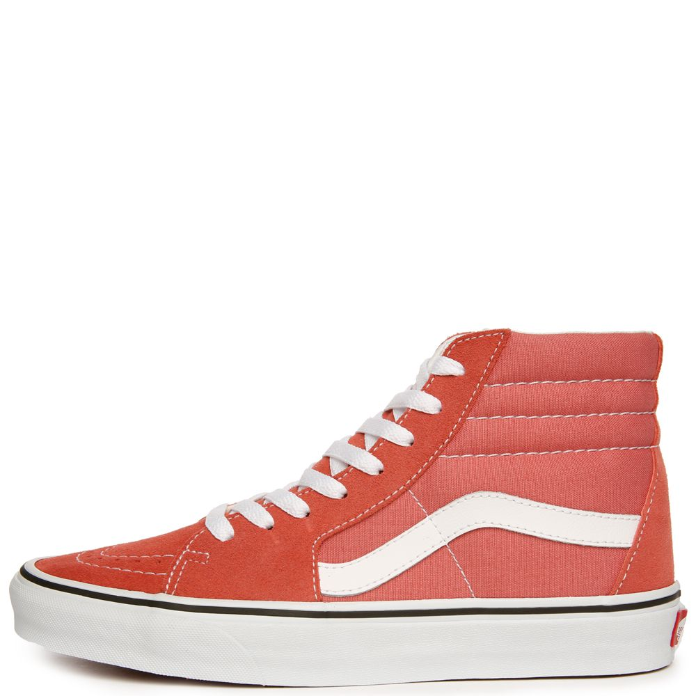 55d07ae7b6 WOMEN S VANS SK8-HI FADED ROSE TRUE WHITE