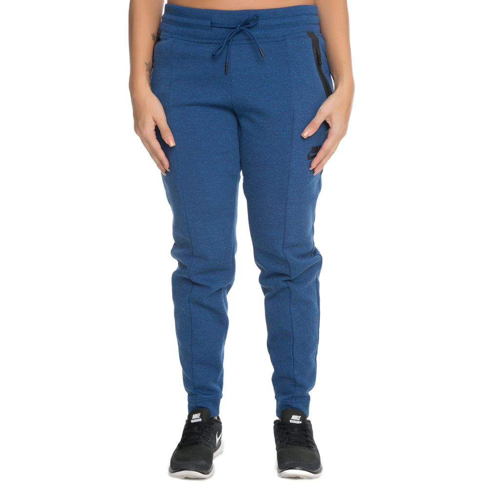 Tech Fleece Seamed Pants Blue Grey Black 57a6c4c2e9