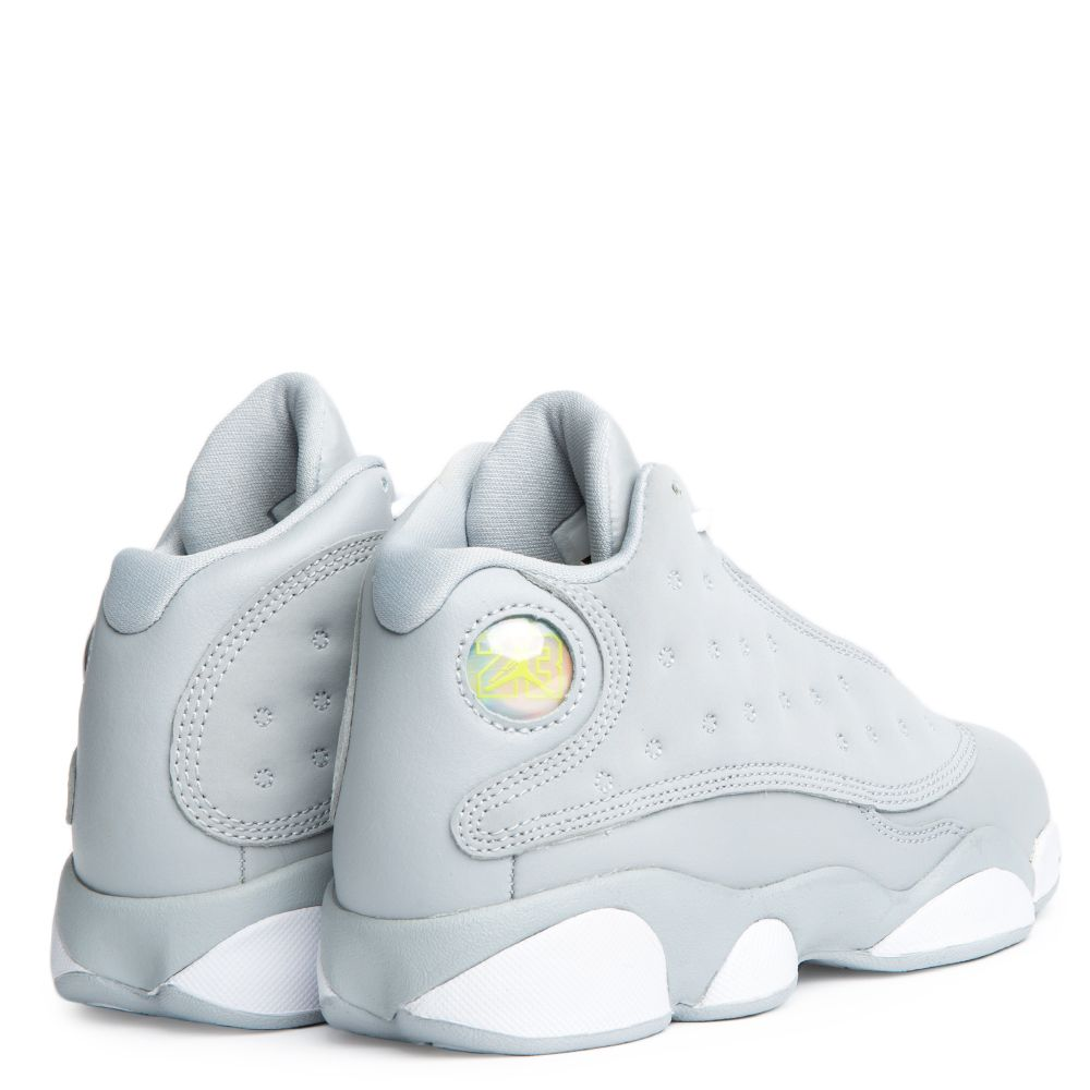 free shipping 8c894 8e3ff PS JORDAN 13 RETRO WOLF GREY WHITE-DEADLY PINK-WHITE
