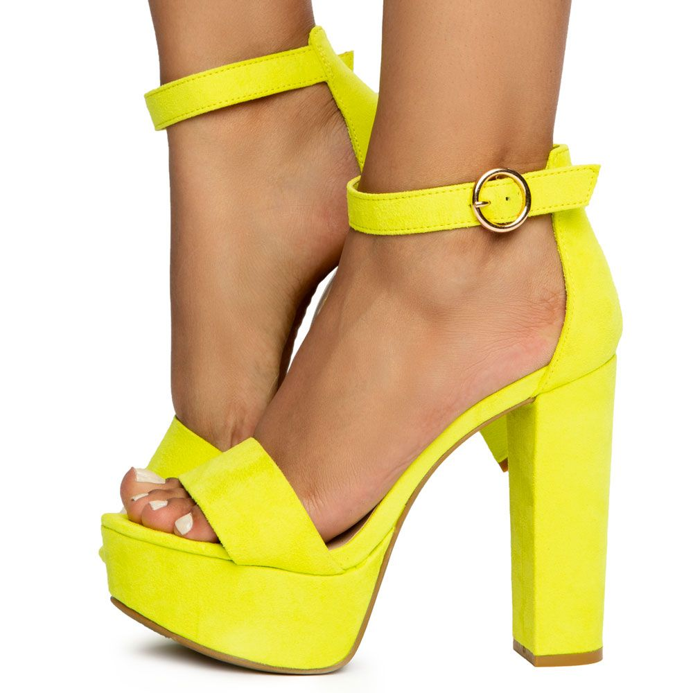 8deb1a349f7 Shocking-07 Open Toe Chunky Heels