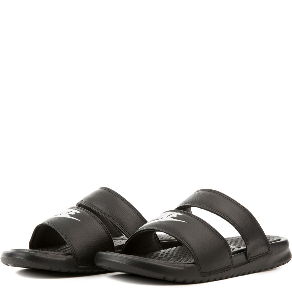 ... Women s Benassi Duo Ultra Slide Black White ... fbae45c36