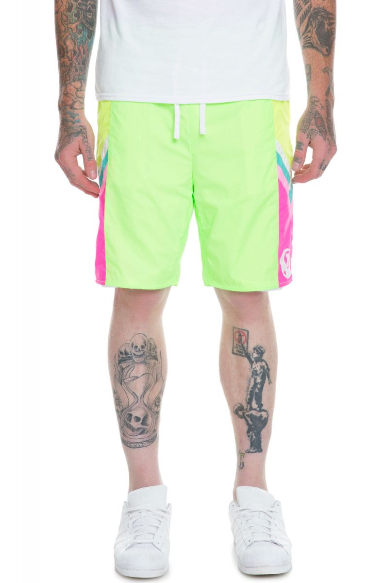Lime Ocean Board In The Green Shorts Sunset EYW2IDH9