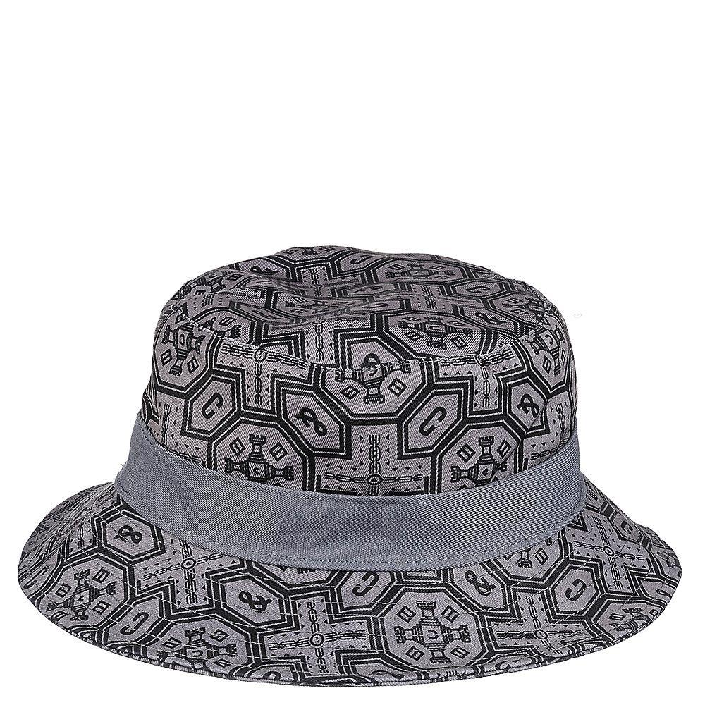 Woven Reversisble Bucket Hat Cement Black 0089690ed36