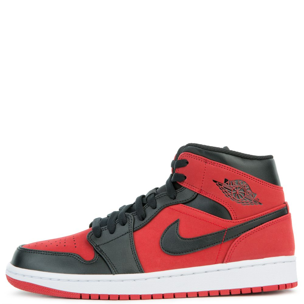 AIR JORDAN 1 MID GYM RED BLACK-WHITE 25c9b4749586