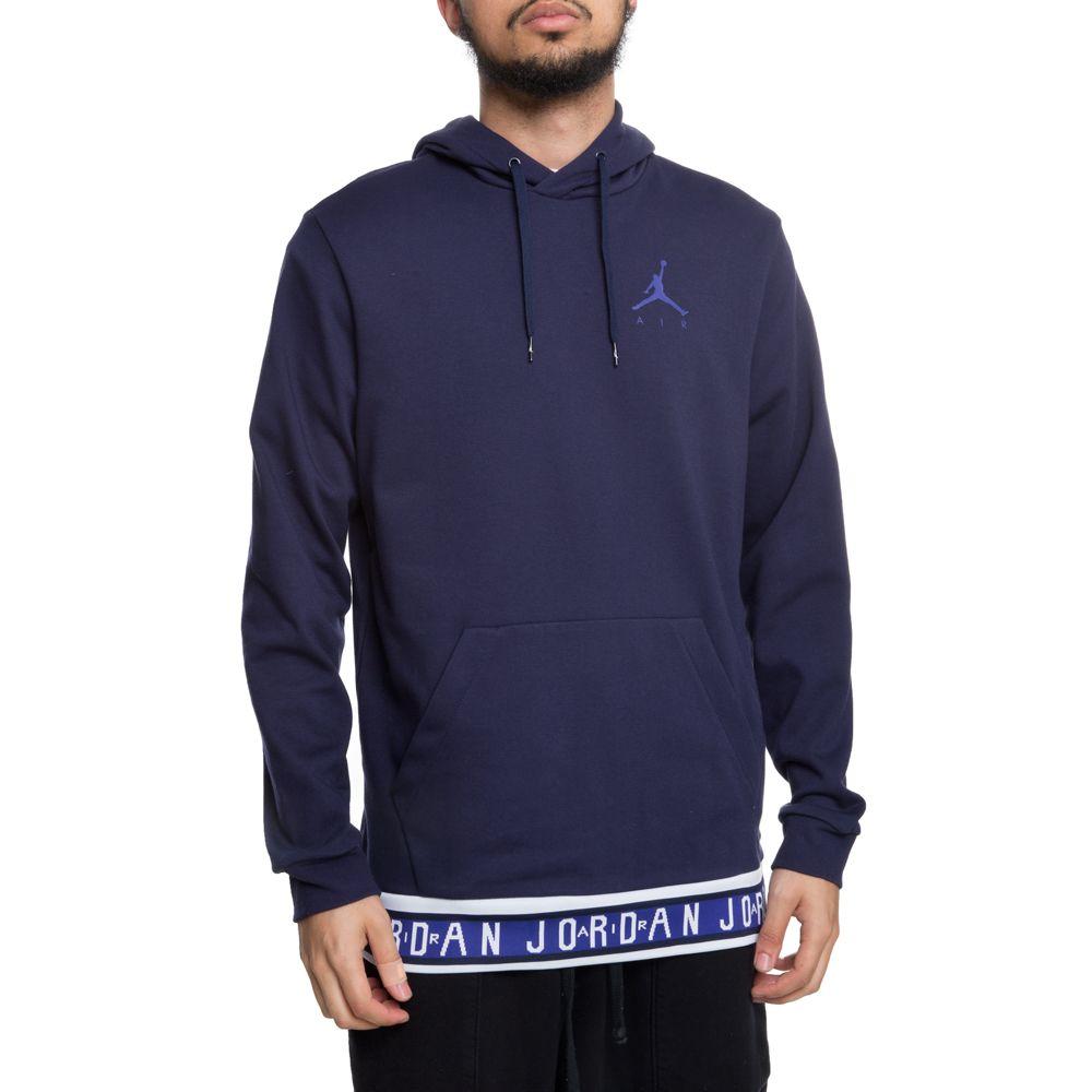 42e6dd16 jordan jumpman pullover hoodie blackened blue/germain blue