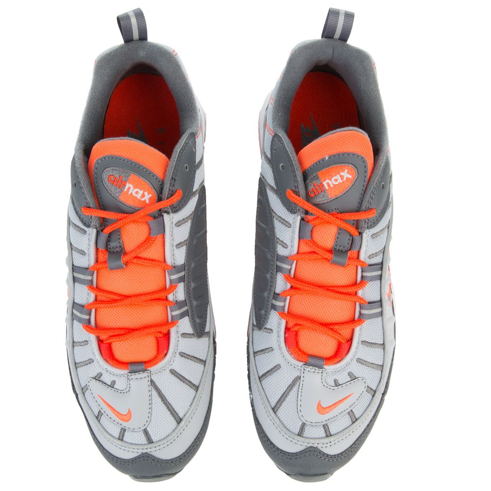 Max Men's Nike Greydark Greytotal Wolf Crimson 98 Air E2IHD9
