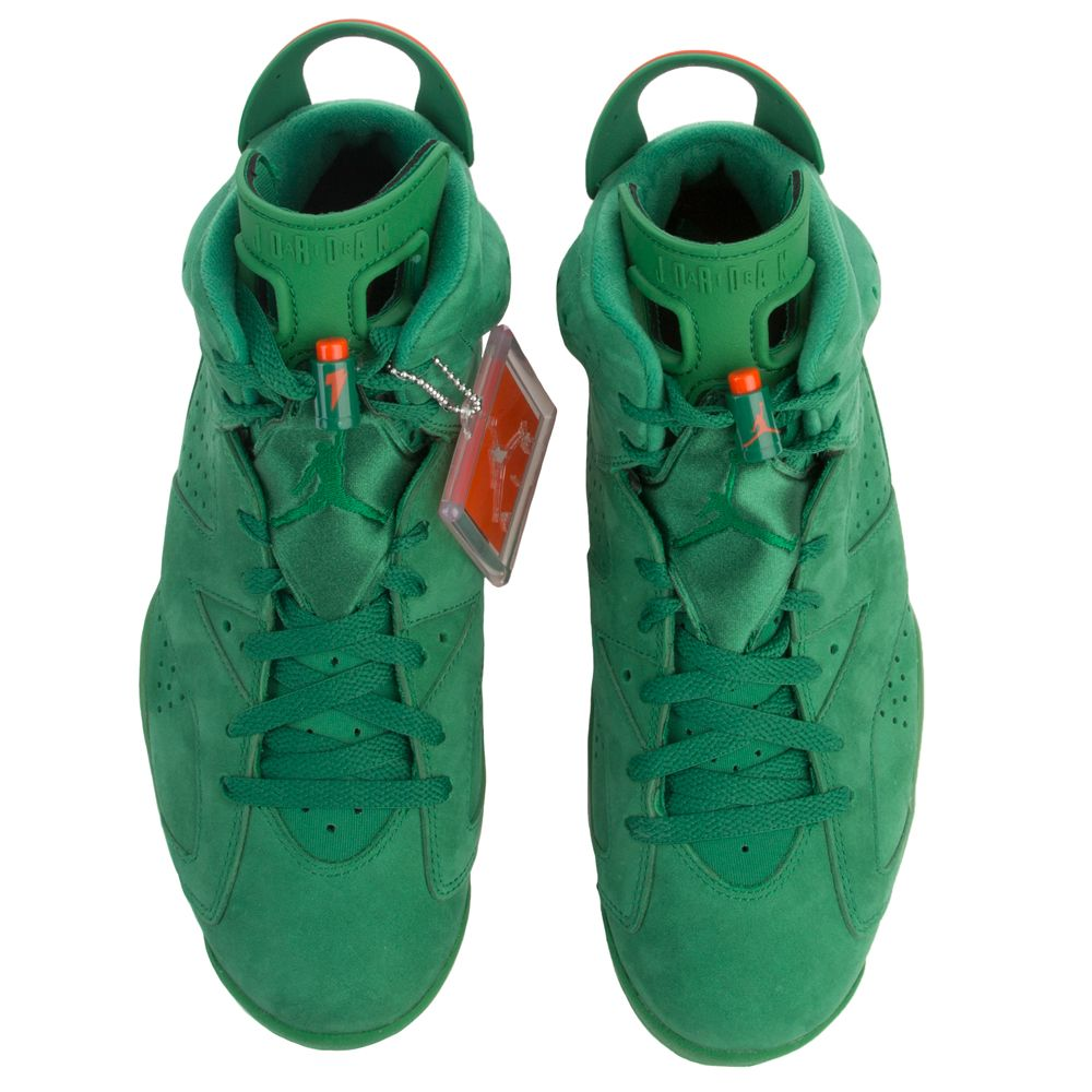 f3dfddfbc36 Air Jordan 6 Retro Energy PINE GREEN/ORANGE BLAZE