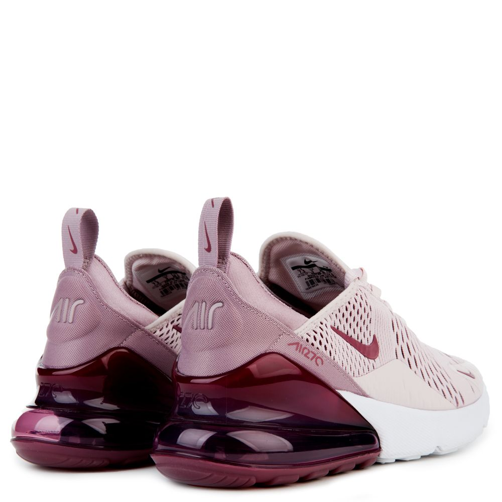 8e5ed49f48 WOMEN'S NIKE AIR MAX 270 BARELY ROSE/VINTAGE WINE/ELEMENTAL ROSE