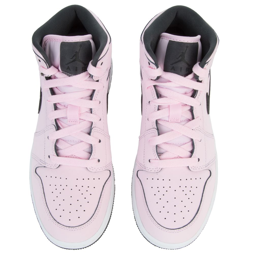 612b4a26d5f ... AIR JORDAN 1 MID PINK FOAM  BLACK-WHITE-ANTHRACITE ...