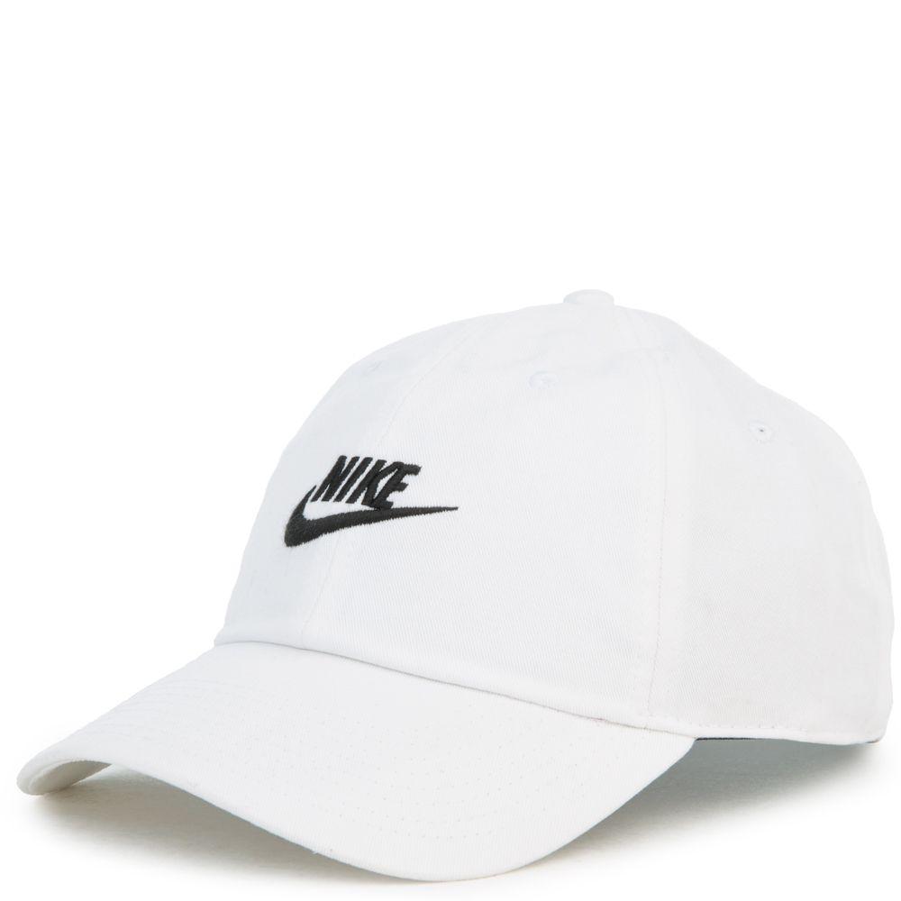 28ab37de7 NSW H86 FUTURA WASHED DAD CAP WHITE/WHITE/BLACK