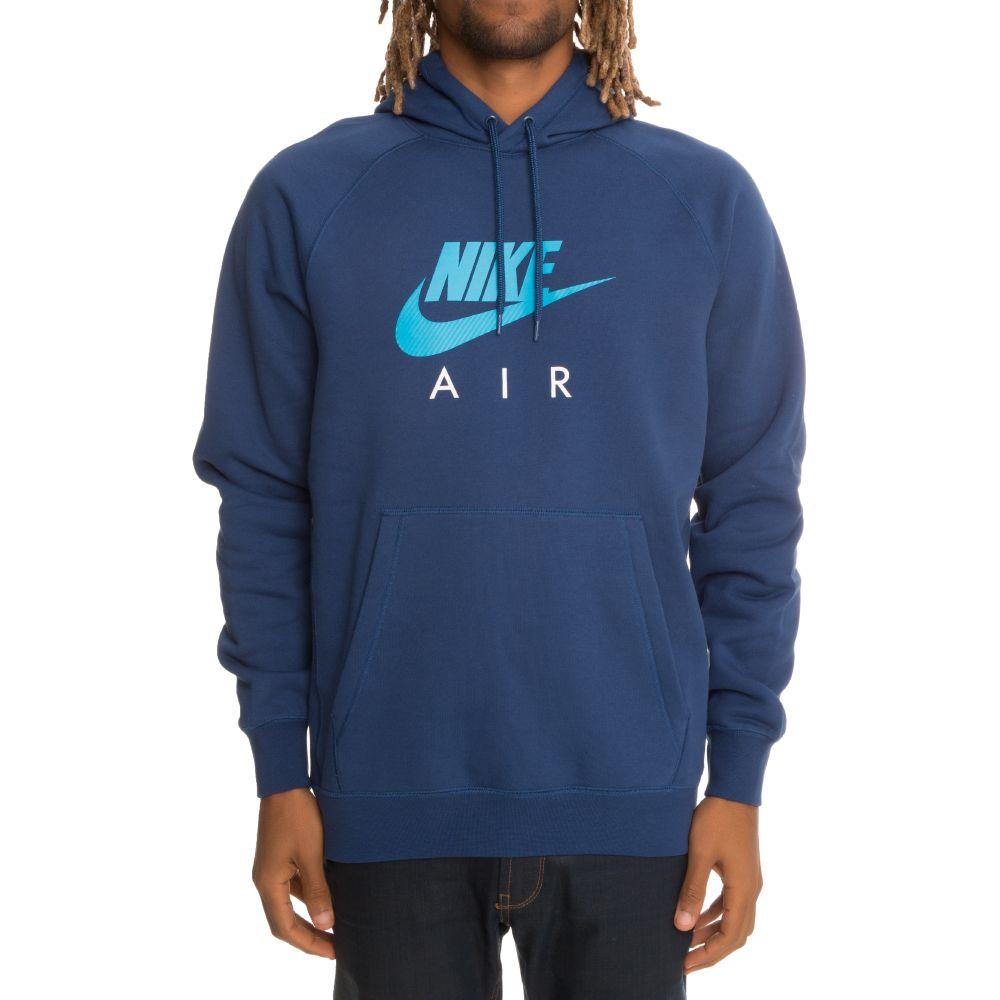 81fda206fe0f Nike Sportswear Pullover Fleece Hoodie Blue Light Blue White