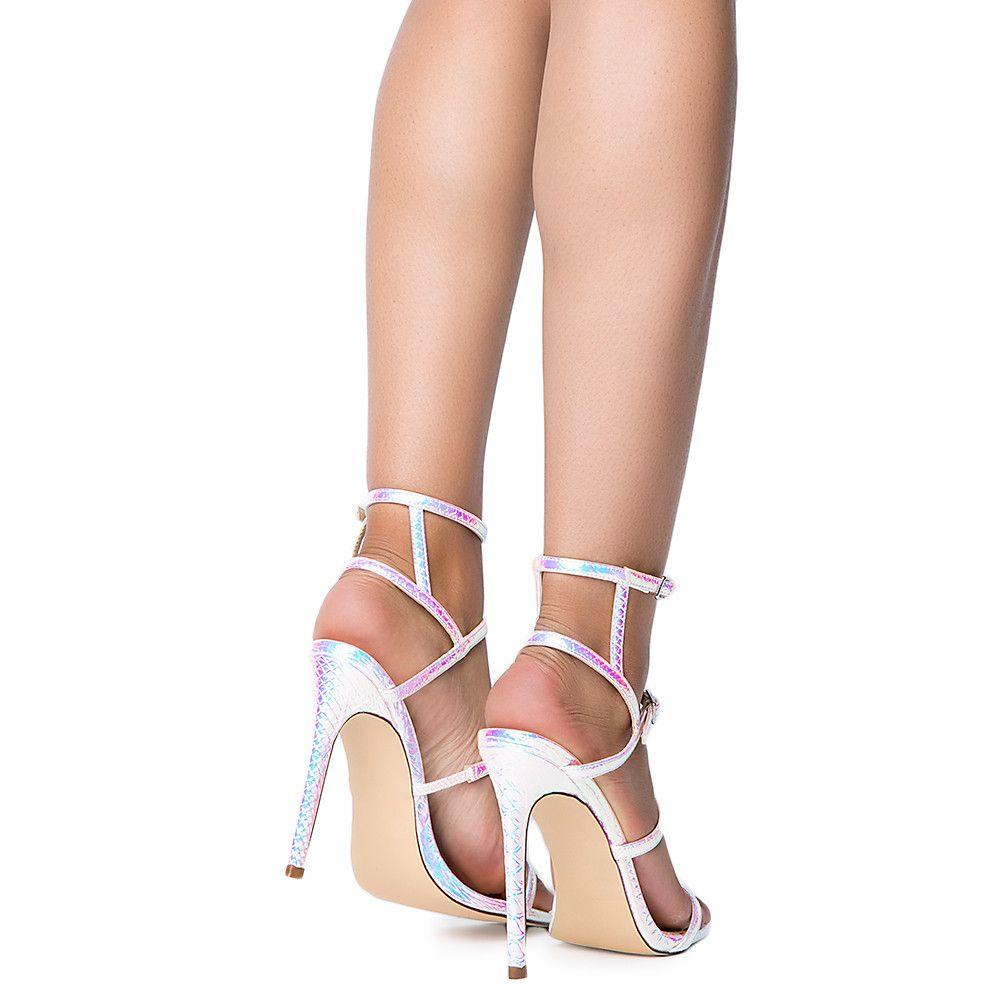 9f3b2e9c9a3 Women's Tisha-28 High Heel PINK HOLOGRAM