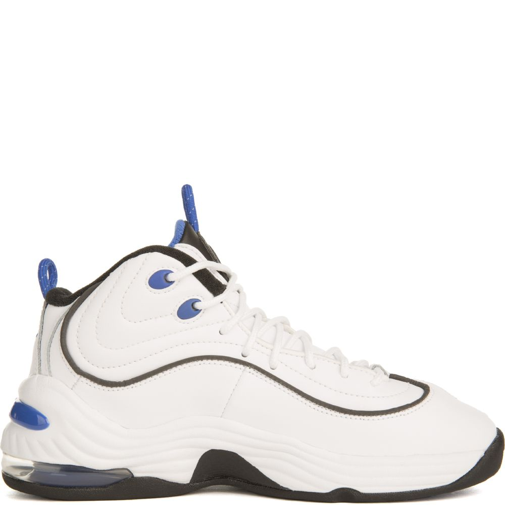 premium selection 2b7a3 0c62c AIR PENNY II WHITE VARSITY ROYAL BLACK BLACK