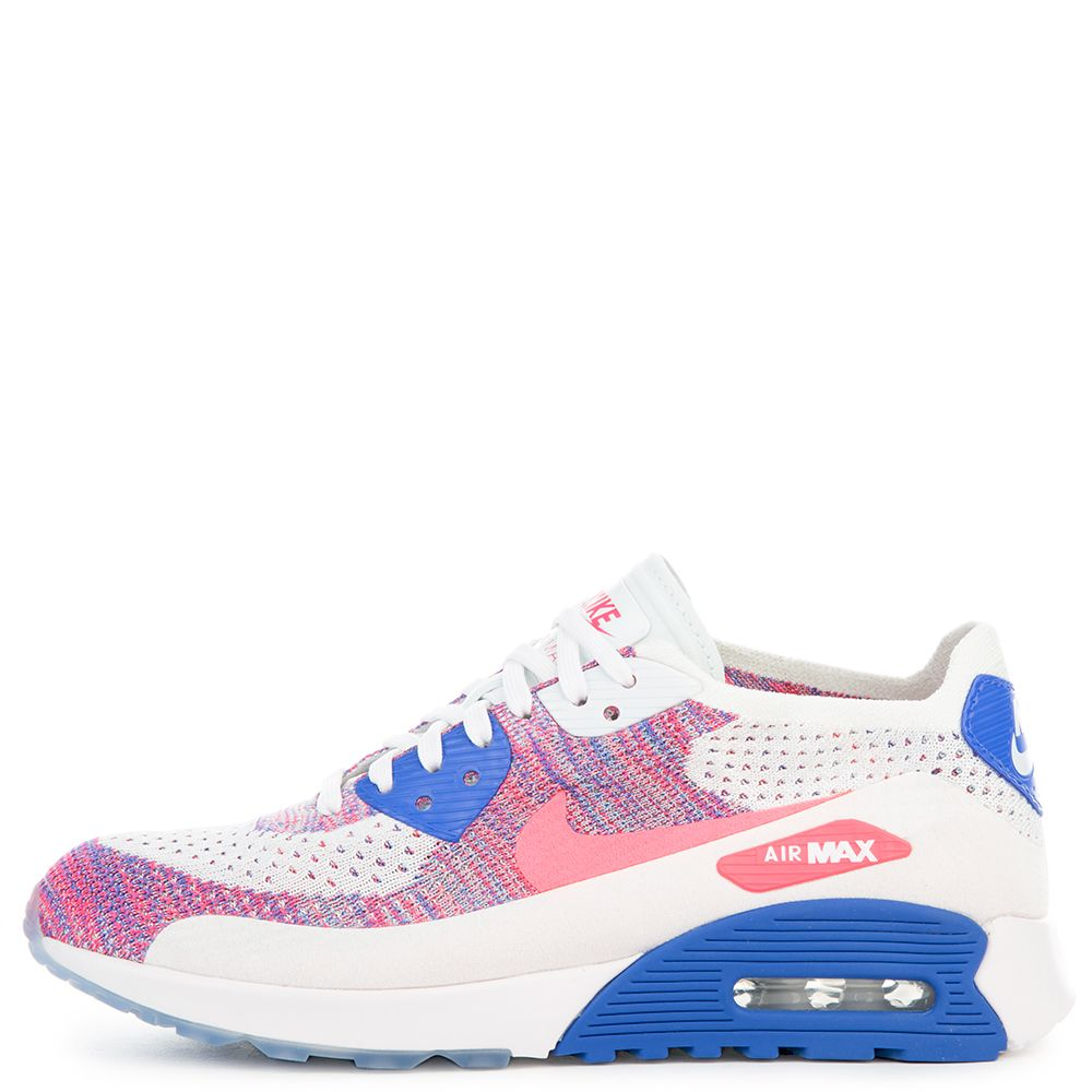 8e125a0b w air max 90 ultra 2.0 flyknit white/racer pink-medium blue