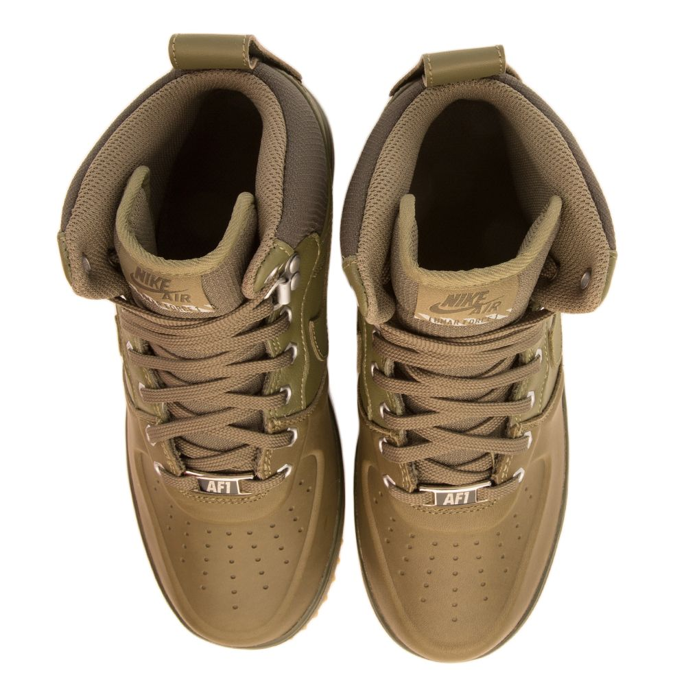 43f2cffd5a57 LUNAR FORCE 1 SNEAKERBOOT GS Olive Yellow Light Brown