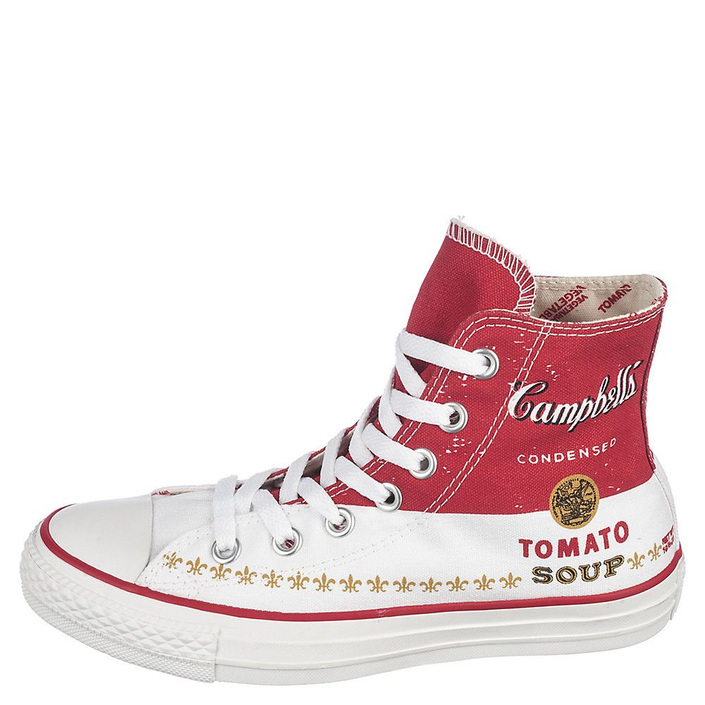 8dc80842acdfa2 Unisex Chuck Taylor All Star Andy Warhol CT Hi Casino Red White