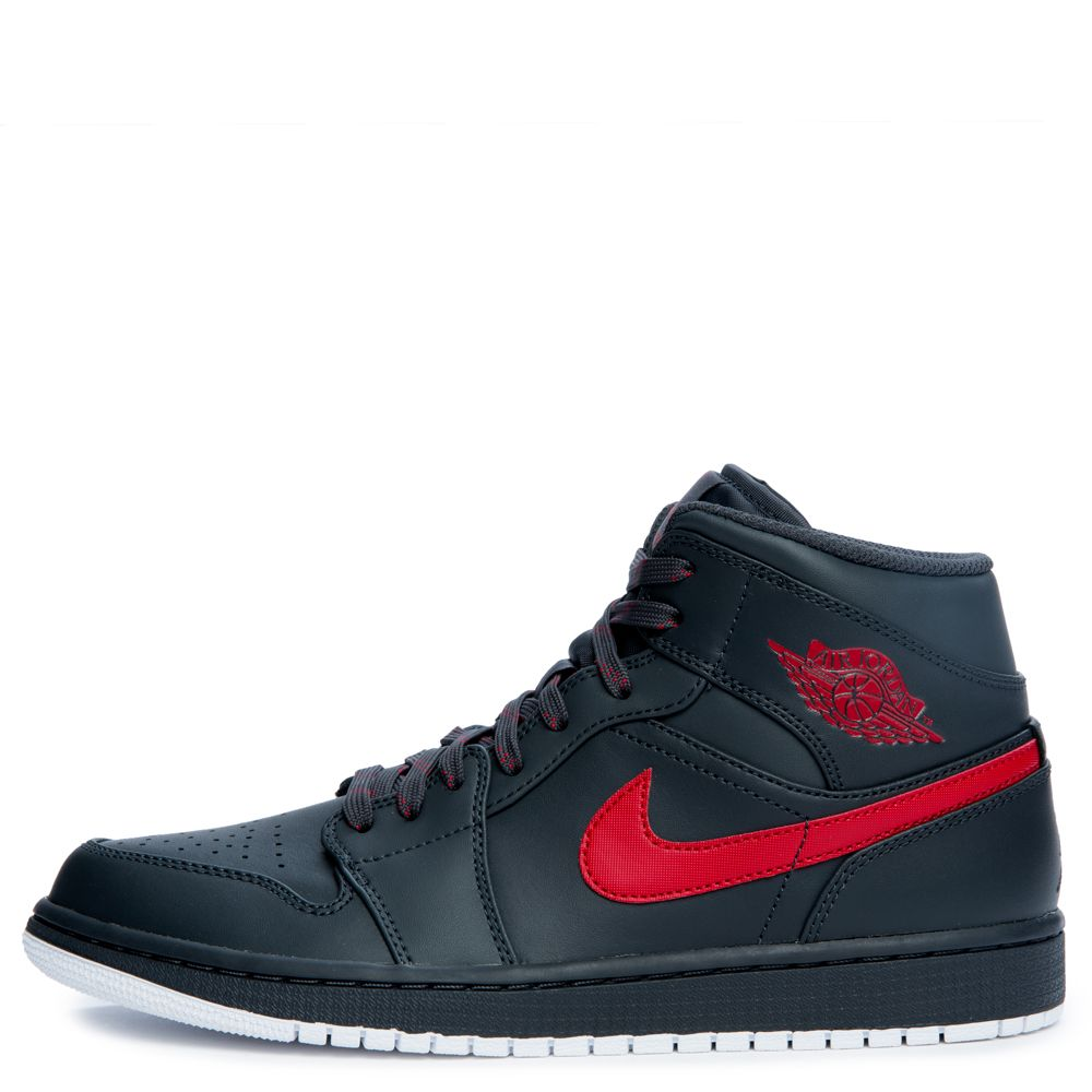 35209ea7cef8 ... cheapest air jordan 1 mid anthracite gym red white fff54 112f2