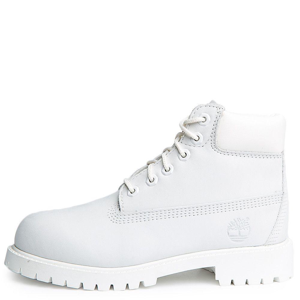 Kids 6 Inch Premium Boot Ghost White Waterbuck 8882901351