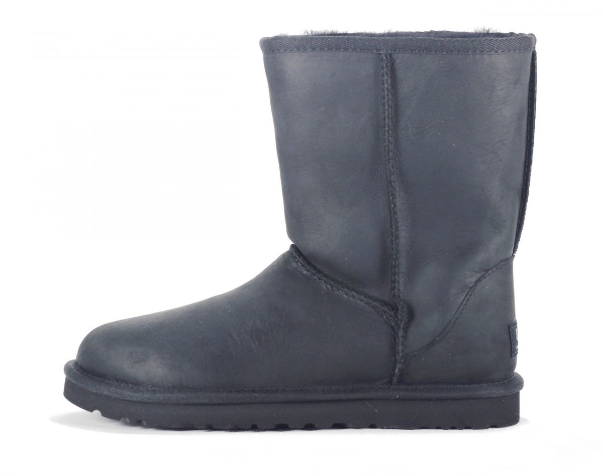 d329e0ba86617 UGG Australia for Women: Classic Short Leather Black Boot BLACK