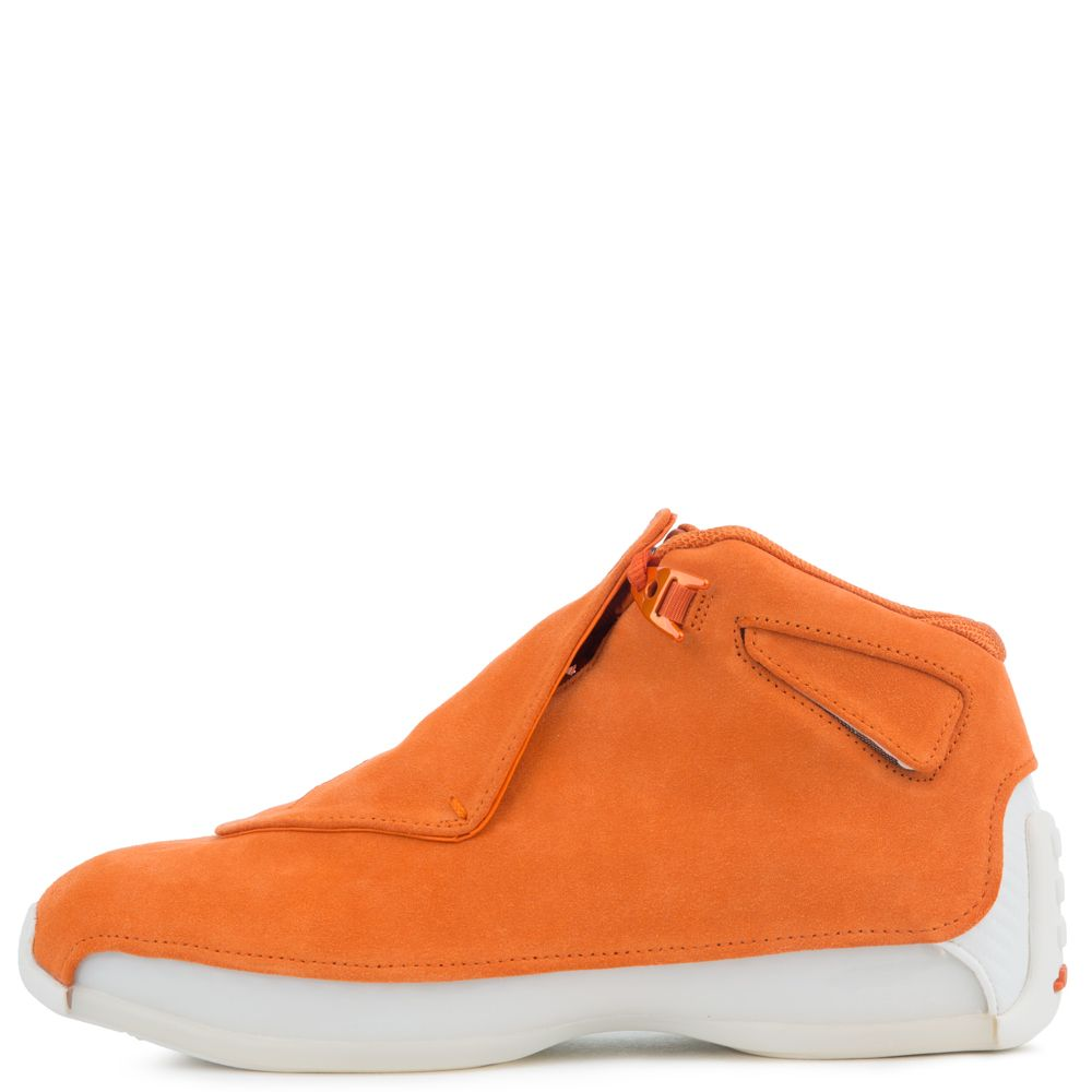 00e9edb311e0 air jordan 18 retro campfire orange campfire orange-sail